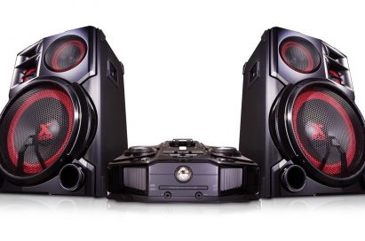 Front view of LG XBOOM audio model CM9960.