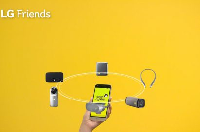 LG Friends can connect to a host of external devices such as iOS smartphones, PCs, laptops, tablets and more
