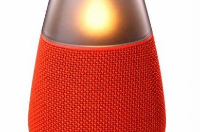 LG Bluetooth speaker model PH3 in red