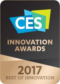 Logo of the CES Innovation Awards 2017 – Best in Innovation