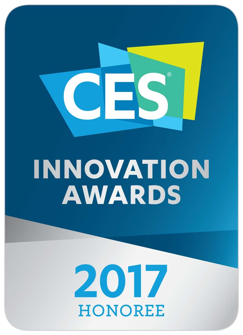 Logo of the CES Innovation Awards 2017 – Honoree.