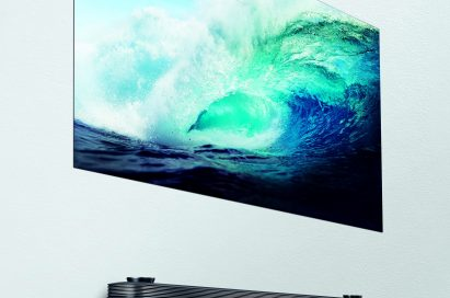 LG SIGNATURE OLED TV W positioned on a wall