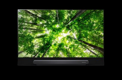 Front view of LG AI-enabled OLED TV model G8