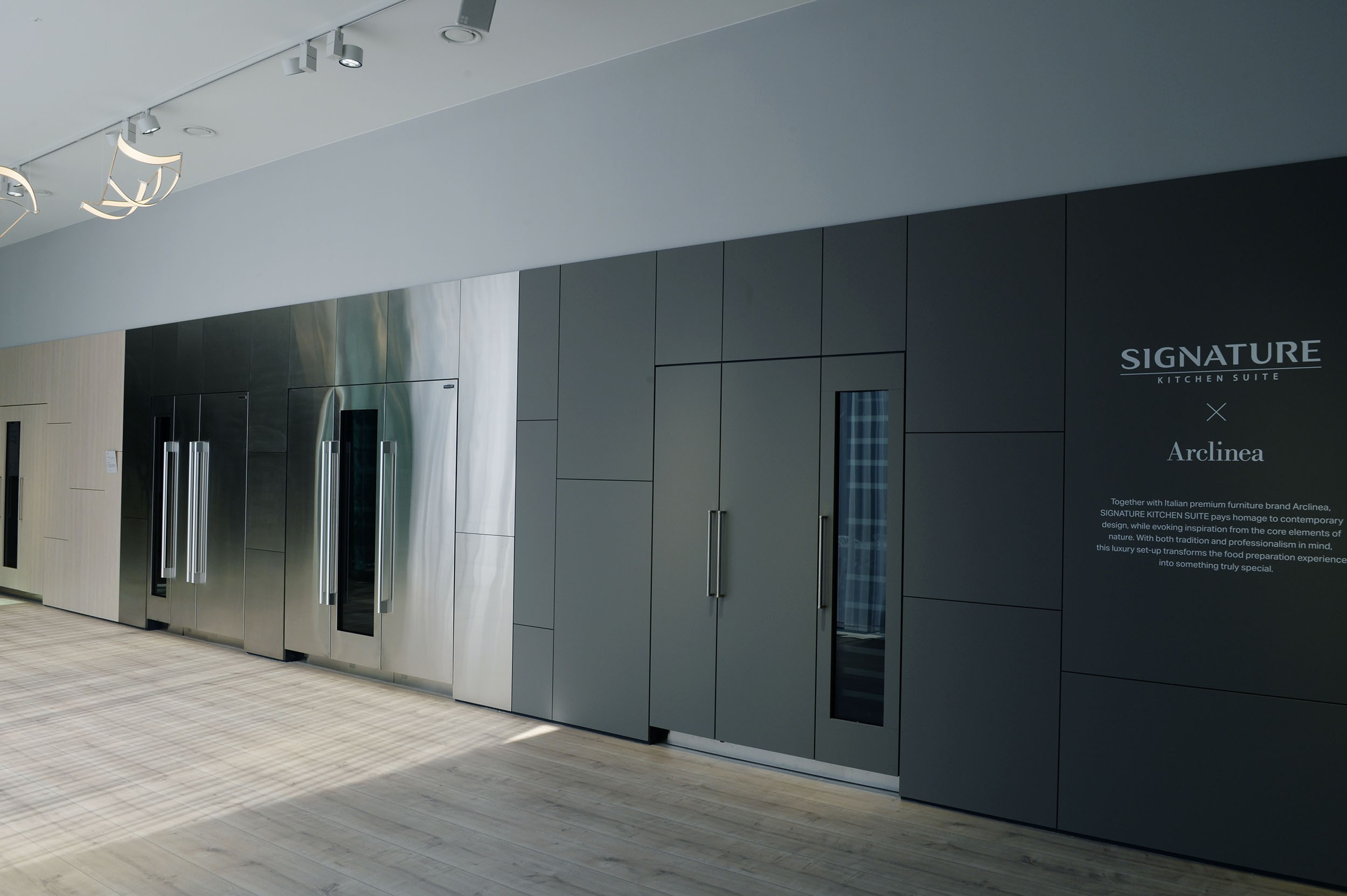 SIGNATURE KITCHEN SUITE's exhibition hall cooperated with Arclinea at IFA 2018