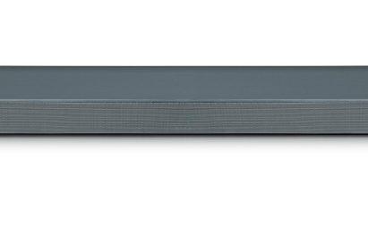 A front view of LG Soundbar model SL9YG