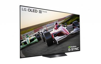 NVIDIA G-SYNC on LG OLED TV model B9
