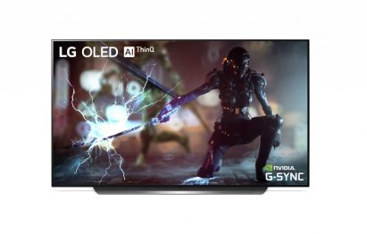 NVIDIA G-SYNC on LG OLED TV model C9