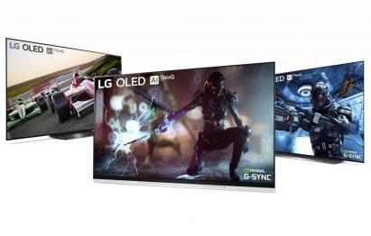 NVIDIA G-SYNC on LG OLED TV models E9, C9 and B9