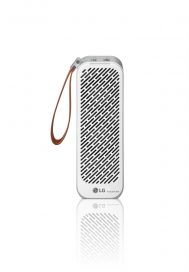 Front view of LG PuriCare Mini in white color