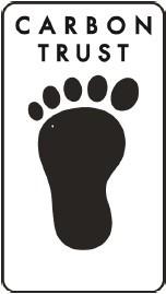 The Carbon Trust Footprint Label.