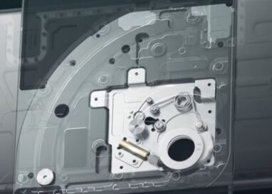A closer look at the reliable swivel mechanism found inside LG WING