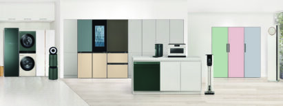 Series of LG Objet Collection appliances boast built-in look, seamlessly fit into the space.