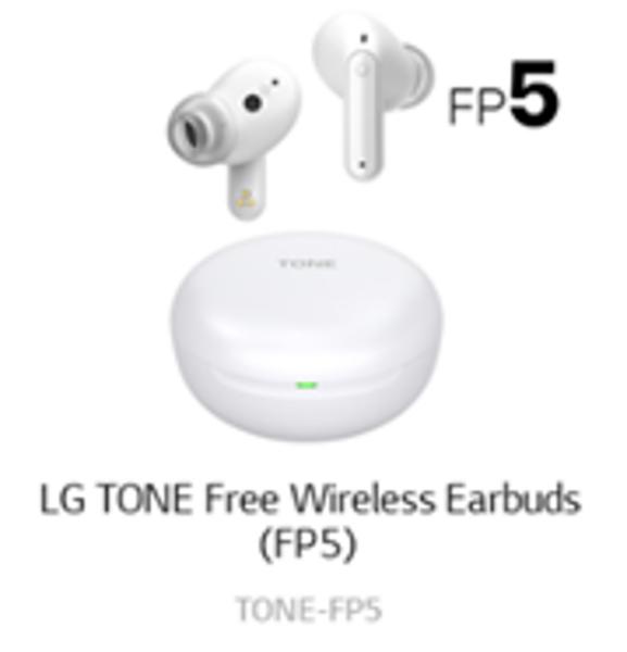 LG TONE Free FP5 White