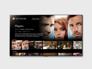 LG Channels displaying the movie 'Players' on its Watch Now page